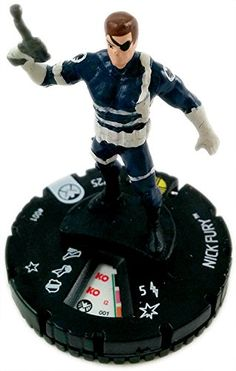 Marvel Heroclix: Nick Fury, Agent of Shield Nick Fury 001 >>> Once in a lifetime offer : FREE Toys and Games