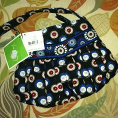 $18.99 Brand new with the original $45.00 tags. Vera Bradley, Hannah Night Owl purse. Found at Goodwill