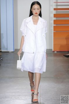 16. All #White - These Will Be the #Hottest #Fashion #Trends for Spring 2015 ... → Fashion #Belts