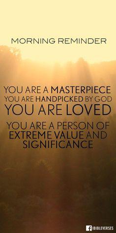 Morning Reminder                                                                                                                                                                                 More