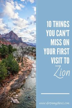 Zion National Park is one of the most beautiful places in Utah, and should be on everybody's bucket lists!  Planning an itinerary for your family vacation can be a challenge though, that is why I'm sharing this list of 10 things to do in Zion.  Whether you are hiking with kids, camping with families, or are on a solo photography adventure this list will give you the tips you need to get on the trail of the best hikes and have an epic road trip!  Don't miss number 8! Beautiful Places To Visit, Cool Places To Visit, Zion National Park, National Parks, Hiking With Kids, Number 8, Land Of Enchantment, Camping Glamping, Best Hikes