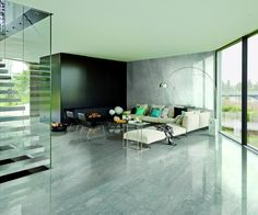 Grey Marble Slabs for Wall and Floor