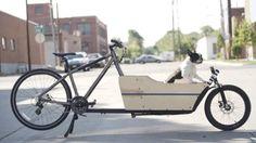 Lift Bike front cargo bicycle conversion kit