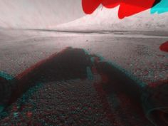 NASA - 3-D View from the Front of Curiosity