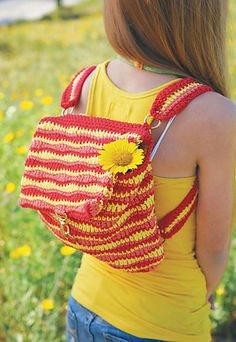 crochet backpac I Want the Clothes in Crocheting Clothes Kids Love for Myself!