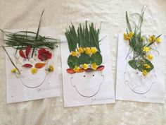 Jai proposé cette activité afin de célébrer le printemps naissant. Mais elle peut être proposée tout au long de lannée car chaque saison offre ses couleurs et sa végétation colorée propre. Le principe est de proposer à lenfant un support visuel (en...