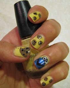 My Cookie Monster manicure :)