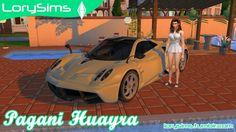 Pagani Huayra at LorySims via Sims 4 Updates Check more at http://sims4updates.net/cars/pagani-huayra-at-lorysims/