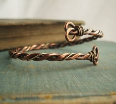 men's copper bracelets   Men's Copper and Brass Bracelet by GypsyMoonArt on Etsy