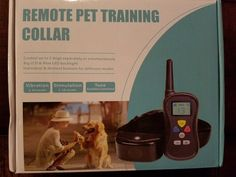 Remote pet training collar 2 Dog set!