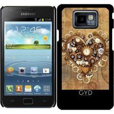 Hülle für Samsung Galaxy S2 (GT-I9100) - Herz Liebe Steampunk-Stil by  BluedarkArt 43e51096d7810