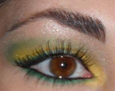 Ombretto giallo mimosa
