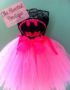 Bat Girl Bat Man Super Hero Tutu Dress Wonder Woman Halloween Costume Birthday Pageant Photography Prop on Etsy, $29.99
