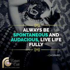 Live a life where you can inspire others to be awesome & beautiful! シ Have a wonderful week ahead シ #Chopard #quotesforlife #jewelleryquotes #fashionquotes #beautyquotes #jewelryquotes #fashionquote #beautyquote #fashion #beauty #style