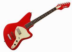Guitars   Truth In Shredding: News: Eastwood Guitars release the Airline Bobkat