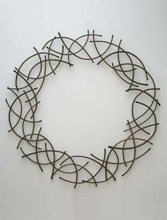 willow wreath by Lizzie Farey