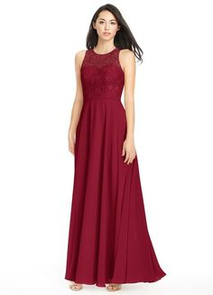 AZAZIE FREDERICA. Frederica is our floor-length gown with an A-line cut. #Bridesmaid #Wedding #CustomDresses #AZAZIE