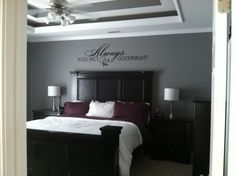 Love The Purple Grey For Home Pinterest Gray Bedrooms And Eggplant Bedroom