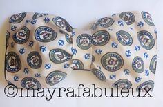 United States Navy Bow bandeau: Perfect for any navy spouse, partner or girlfriend.
