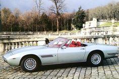 "Maserati Ghibli spyder - Ghia ""Giugiaro"" 1968 - icy blue beauty"