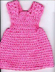 "CROCHET - Free pattern - Jumper Dress for 18"" Doll"