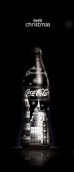Thematic bottle designs for Coca Cola