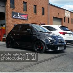 Jason Hall uploaded this image to 'Fender Flares'. See the album on Photobucket. Fiat 500e, Fiat Abarth, Fiat Cars, Automobile Companies, Car Goals, Fender Flares, Car Car, Vespa, Cool Cars