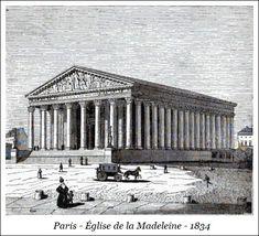 Paris – Église de la Madeleine – 1834 | Bibliotec – À la française … 2