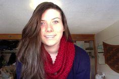 DIY Beautiful Fun Crafts: Knit Infinity Scarf