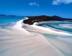 Great Barrier Reef - This looks like Whitehaven beach, one of the best places in the world!