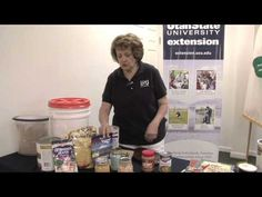 How to store Food for Emergencies - Video