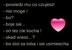 Gdyby to była prawda Cute Quotes, Sad Quotes, Daily Quotes, Broken Heart Wallpaper, Weekend Humor, Perfect Boyfriend, Wonder Quotes, Romantic Things, Husband Quotes