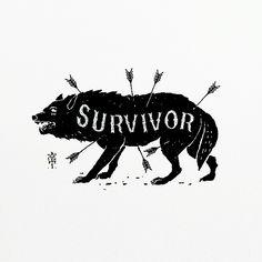Survivors should not be strangers.