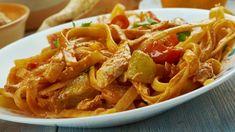 Cina - Retete practice Cajun Chicken Recipes, Cajun Chicken Pasta, Lunch Recipes, Baby Food Recipes, Creamy Cajun Pasta, Tagliatelle Pasta, Food Articles, Easy Salads, Lasagna