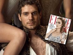 Henry Cavill talks dating and filming naked scenes in The Tudors in Elle Magazine interview