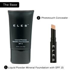 Mineral  Liquid Powder Foundation -  ZAZA price $24.95 ELES price $66.50
