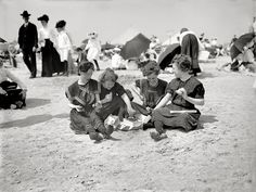 A Hasty Lunch: 1905 (Coney Island, NY), from Shorpy Historical Photo Archive