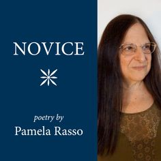 Pamela Rasso is a poet, essayist and film poet. Her work has been published in many literary magazines including The Hiram Poetry Review, Italian Americana, Oberon, The New York Quarterly, Intermuse, Modern Poetry Studies, Mobius: The Poetry Magazine, Gradiva and Rattle. Pamela's film and video poems have been shown at art film houses, galleries and festivals. Pamela lives in a loft in SoHo, NYC with her African Gray Parrot Bazil who recites Shakespeare.