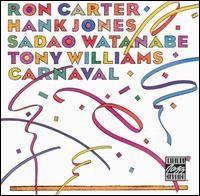 I'm listening to Manha De Carnaval by Ron Carter / Hank Jones / Sadao Watanabe / Tony Williams on Last.fm's Scrobbler for iOS.