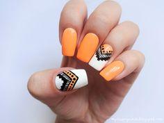 Cherry nails - zdobienie paznokci naturalnych