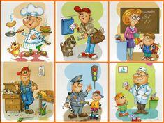 Community Workers, Community Helpers, Kindergarten, English Class, School Projects, Diy And Crafts, Preschool, Family Guy, Comics