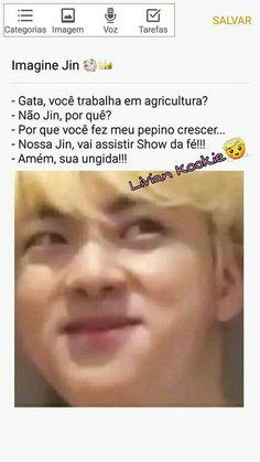 Imagine Jin, Bts Edits, Show, Bts Memes, Seokjin, Humor, Bipolar, Random, Bts Pictures