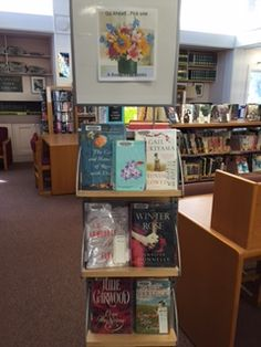 Go Ahead Pick one ... a Bouquet of Books at the Plainville Public Library