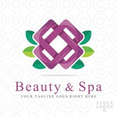 Exclusive Customizable Logo For Sale: Beauty & Spa by Serdal Sert | StockLogos.com