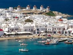 Mykonos, Grecia. ¡Un paraíso azul y blanco!