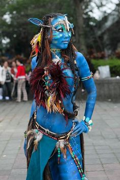 homemade costumes female | Avatar Costume, Suits and Avatar Make-up | Your inspiration for all ...