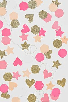 Hearts + Stars Mini Garland Kit