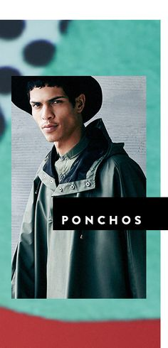 Men's Trend: Spring 2016 Trend Report > Ponchos | All The Rail at #Nordstrom #GreenHills #TN #Fashion #MichelleSchwantes