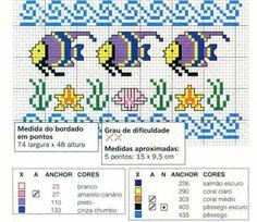 Gráficos de ponto cruz - Marcia R
