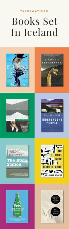 Books Set In Iceland. For more books visit www.taleway.com to find books set around the world. Ideas for those who like to travel, both in life and in fiction. #books #novels #fiction #iceland #travel
